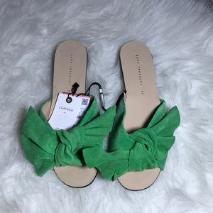 Zara Leather Sandals Size 37/7